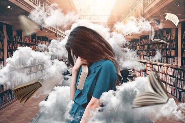 fantazie v knihovně