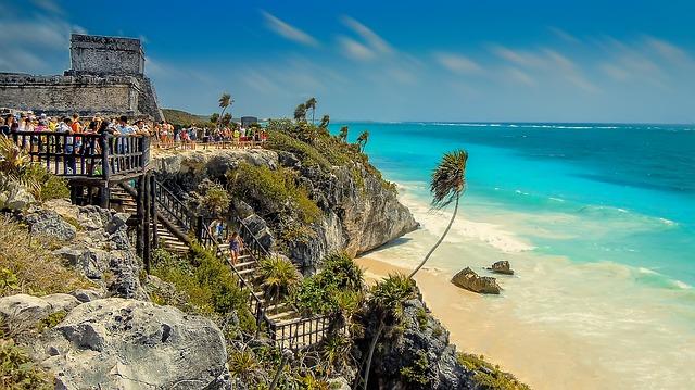 schody na pláž