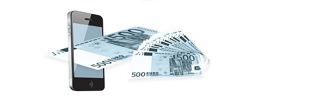 peníze na mobil