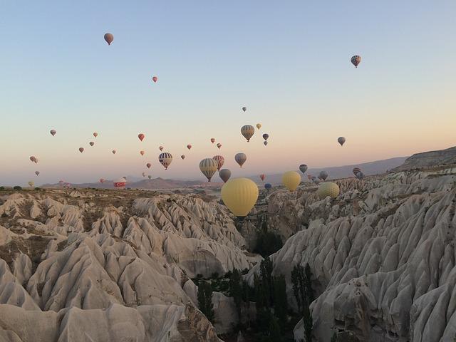 horké balony