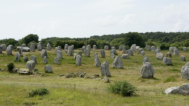 kameny na louce