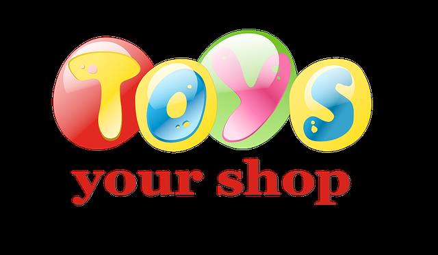 nakupování hraček