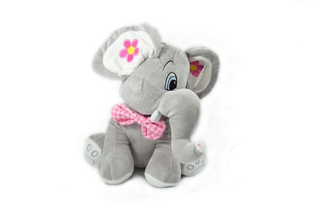 plyšový slon