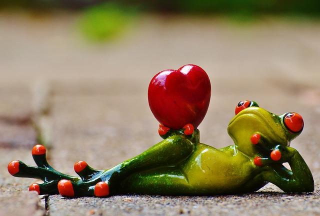 žabák a láska