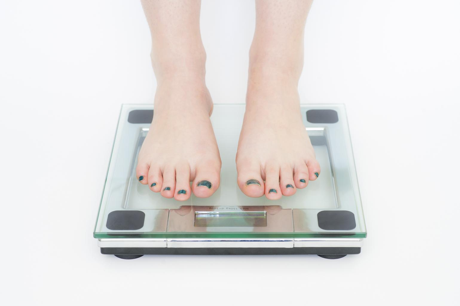 nohy, osobná váha
