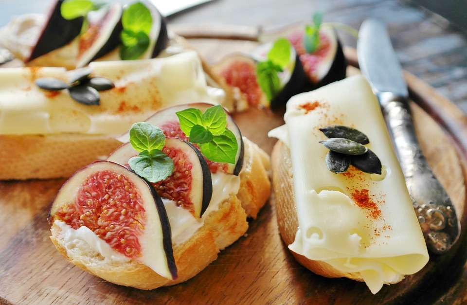 syr, chlieb, bagety