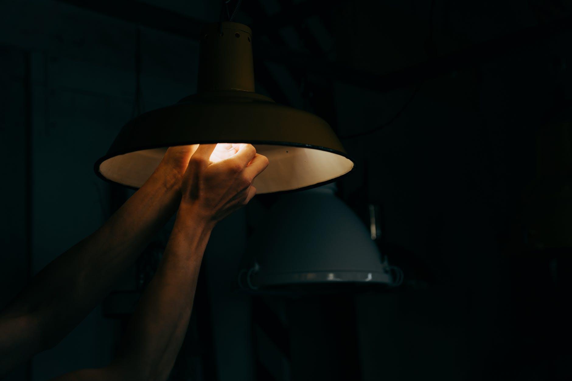 výmena žiarovky
